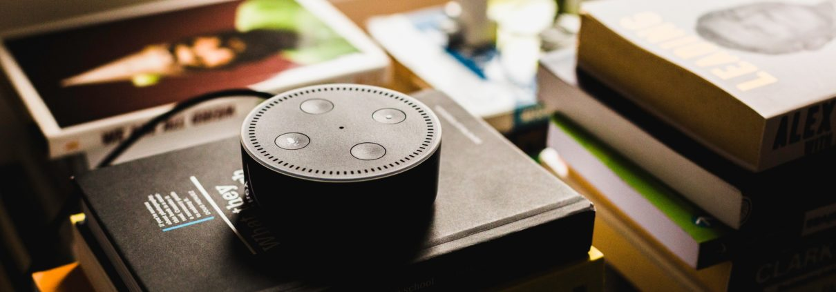 Recherche vocale, et SEO vocal Amazon echo dot, designj article blog web design