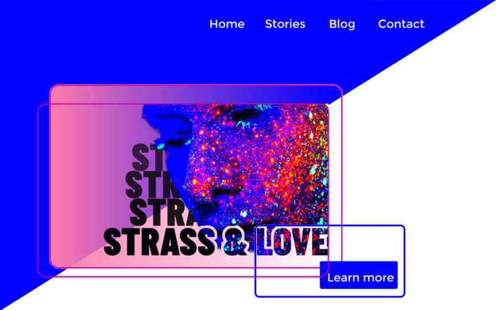 "Homepage ""strass & love"""